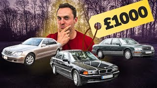 £1000 Luxury Car Challenge