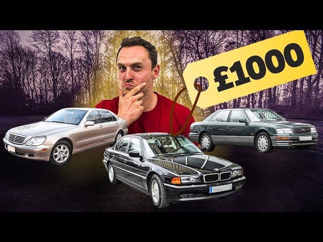 £1000 Luxury Car Challenge