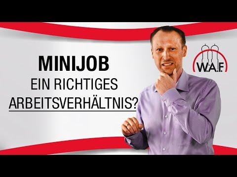 Ein 450-EUR-Job (Minijob) ist doch kein richtiges Arbeitsverhältnis, oder? | Betriebsrat Video