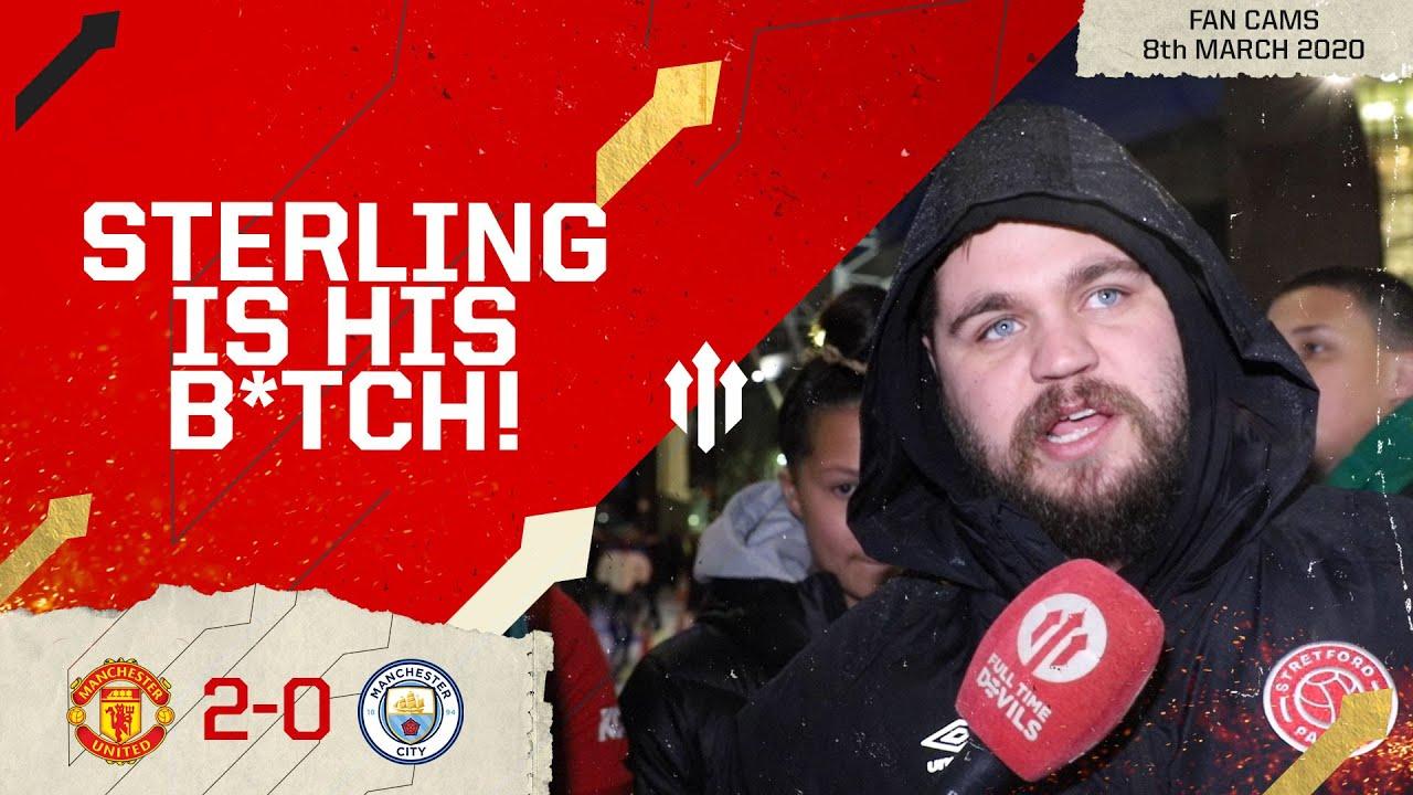 WAN-BISSAKA? TWO-BISSAKA! Man United 2-0 Man City   Stephen Howson Fan Cam