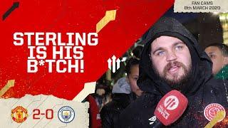 WAN-BISSAKA? TWO-BISSAKA! Man United 2-0 Man City | Stephen Howson Fan Cam