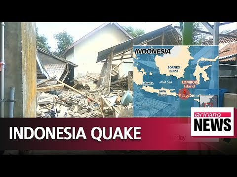 Indonesia's Lombok island hit by M 6.3 earthquake