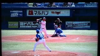 岩村、武内、中村の3者連続ホームラン.