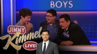 Modern Family Feud  - Kids Edition on Jimmy Kimmel Live PART 2