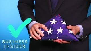 The Correct Way To Fold The American Flag Ft. Presidential Candidate Rep. Seth Moulton