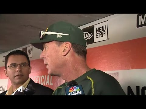 Bob Melvin: 'This Is The Right Way To Lead Into A Season