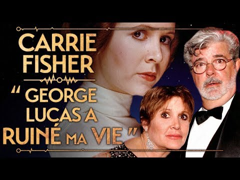 "PVR #34 : CARRIE FISHER - ""GEORGE LUCAS A RUINÉ MA VIE"""