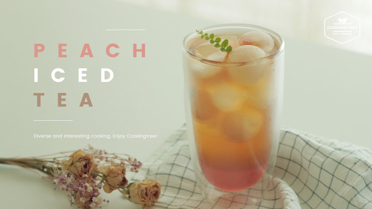 Real peach iced tea recipe cooking - Cuisine r evolution recipes ...