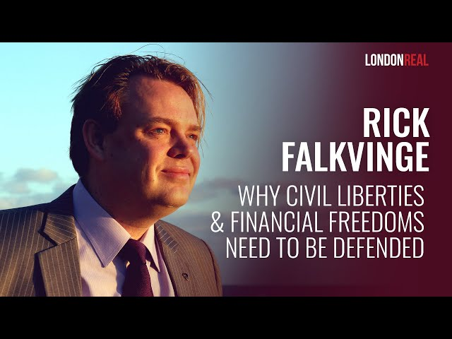 Rick Falkvinge | Pirate Party | London Real