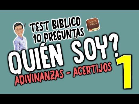 Quien Soy 1 Test Biblico Adivinanzas Biblicas Youtube
