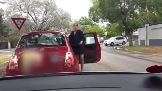 Road rage incident