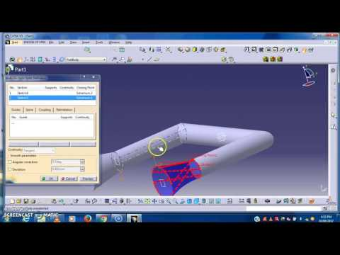 CFD Analysis of hot fluid and cold fluid in 3D Circular Pipe