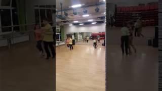 Тренировка танца Джайв в парах - 1 урок новой схемы:)