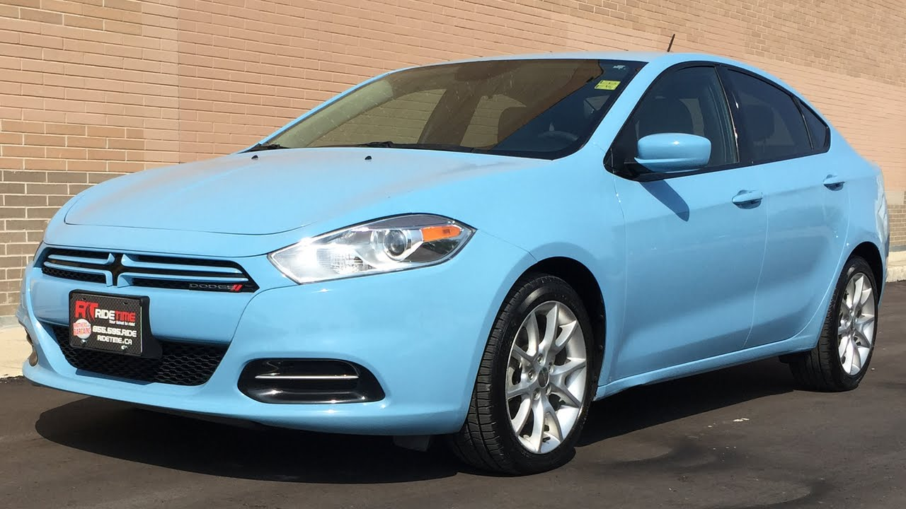 Dodge Dart Sxt >> 2013 Dodge Dart SXT - Automatic, RARE Laguna Blue Paint, 17in Alloy Wheels - YouTube