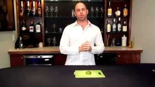 Wicked Bar Trick! Cutting A Lime With A Cigarette