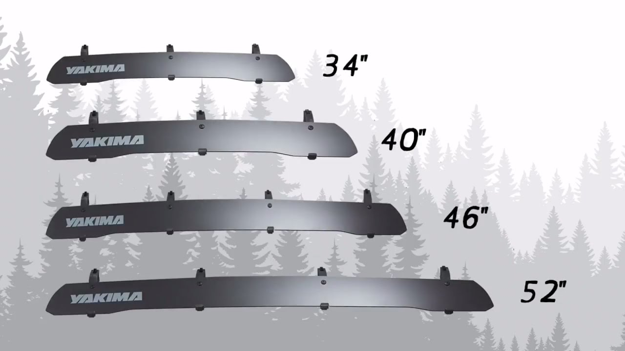 Yakima WindShield universal roof rack wind deflector ...