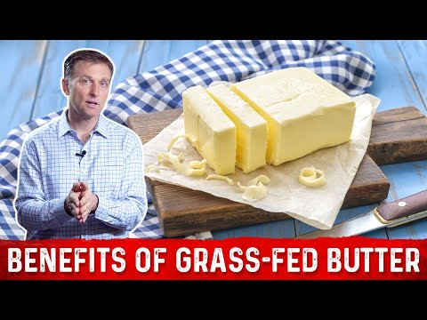 5 Amazing Health Benefits of Grass-Fed Butter : Dr.Berg