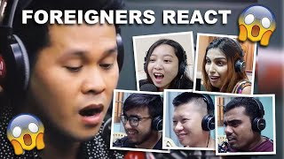 Download Foreigner's Reaction to The Prayer as performed by Marcelito Pomoy on Wish 107.5 Mp3 and Videos