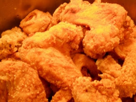"""""""H Town"""" Deep Fried Chicken Wings Complete"""
