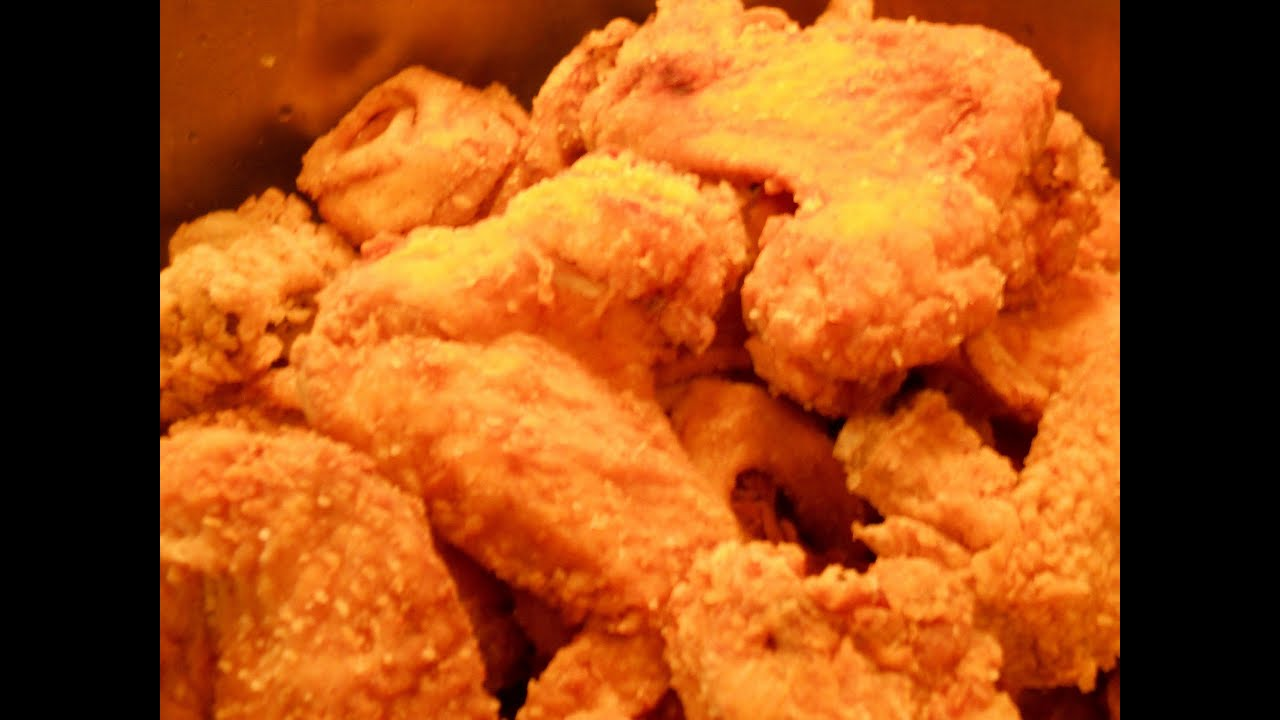"""H Town"" Deep Fried Chicken Wings. Complete Version. - YouTube"