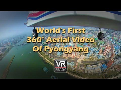 World's First Aerial 360 Video Over North Korea – Filmed 2017 September 24