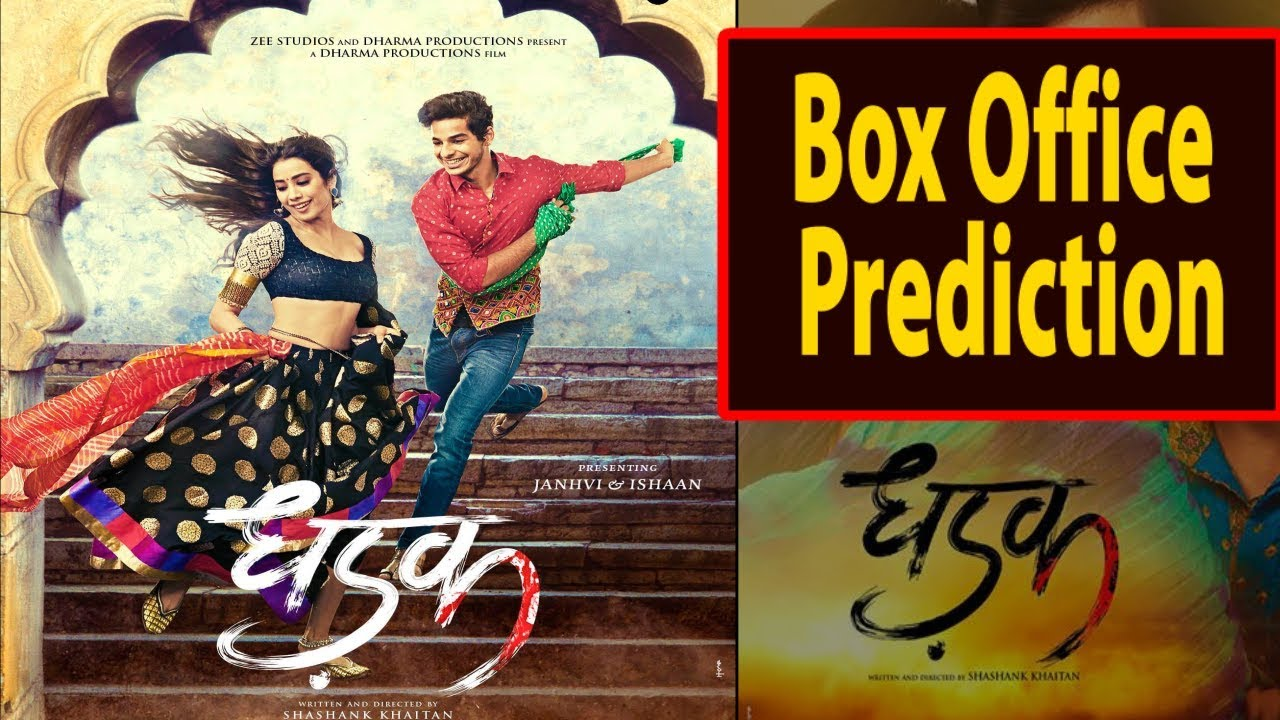 Image result for latest images of dhadhak movie box office collection