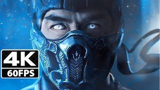 Mortal Kombat 9 All Cutscenes Game Movie [4K-60FPS]
