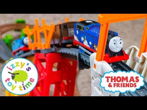 Thumbnail: Thomas and Friends | Trackmaster Avalanche Escape Playset Pretend Play | Toy Trains for Kids