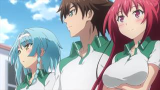 Shinmai maou no testament burst trailer