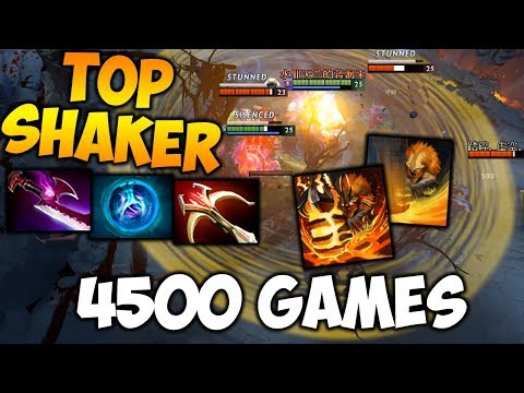 4500 Games SHAKER - Top Dotabuff Player - Dota 2 HighlightsTV