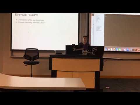 GBC - Ethereum Workshop (Part 1) - Setting up the Ethereum Development Environment