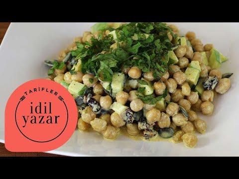 Körili Nohut Salatası Tarifi - İdil Yazar - Yemek Tarifleri