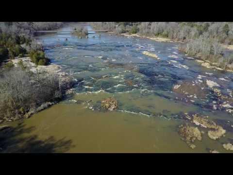 Flat Shoals At Flint River  - 01 31 2017