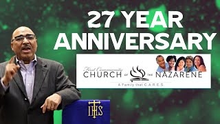 27th Year Anniversary Service