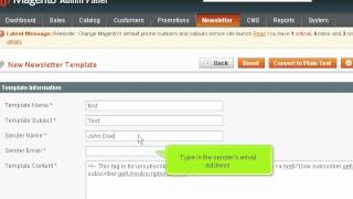 How to Send and Manage Newsletters in Magento