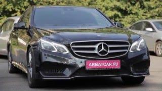 Аренда машин без водителя Mercedes / Мерседес 212 рестайлинг черный(, 2016-01-21T14:50:46.000Z)