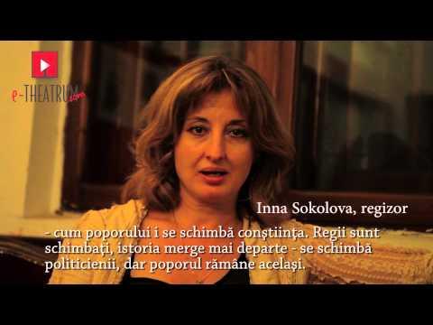 Maria Stuart   interviu Inna Sokolova logo