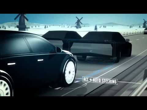 Volvo's Adaptive Cruise Control With Steer Assist system