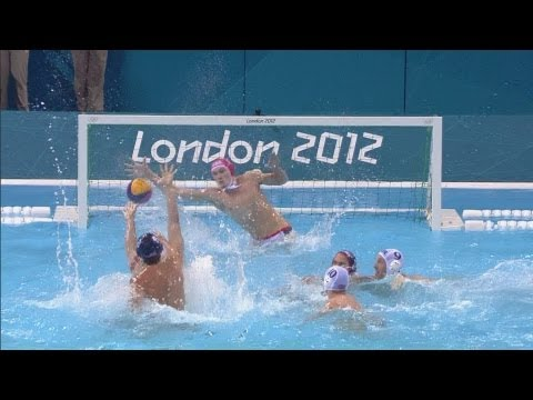 Men's Water Polo Preliminary Round - GBR v USA | London 2012 Olympics