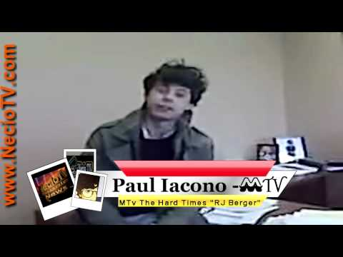 Shout Out Paul Iacono MTV The Hard Times