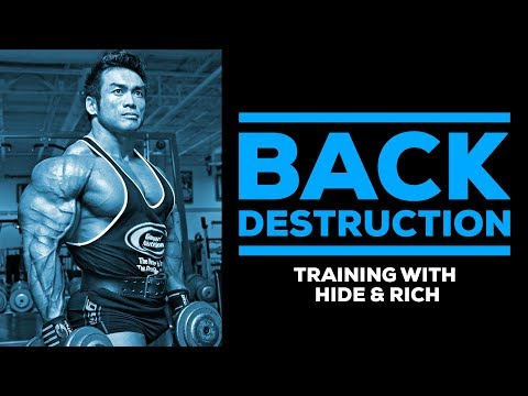Back Destruction: Training With Hidetada Yamagishi & Rich Gaspari | GI Training