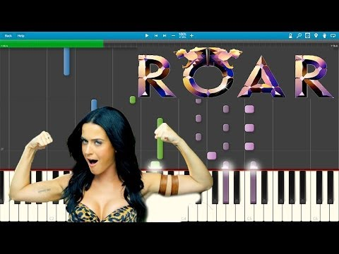 Roar - Katy Perry (Piano Cover) [Synthesia]