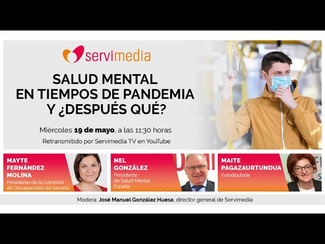 """Diálogo sobre """"Salud mental en tiempos de pandemia. Y ¿después qué?"""