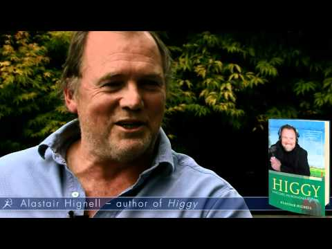 Interview with Alastair Hignell, author of 'Higgy: Matches, Microphones and MS'