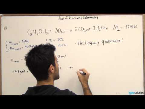 Chemistry Heat Capacity And Calorimetry Medium Lvl Question