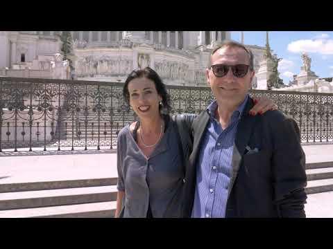 Viviana and Luigi send greetings from Roma!