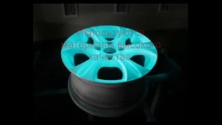 видео Бизнес на покраске дисков светящейся краской