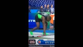 Ufomba Kamalu: Wardrobe Malfunction (NFL Scouting Combine)
