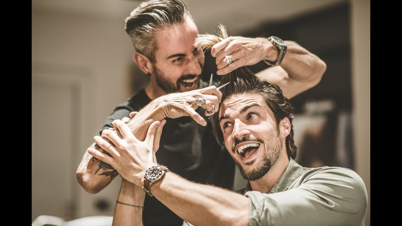 Mariano Di Vaio Hair Style Tutorial 2018 Messy Haircut For Men Youtube