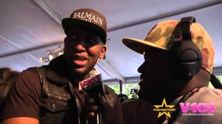 DJ Scream On Red Carpet For BET Hip Hop Awards With V-103